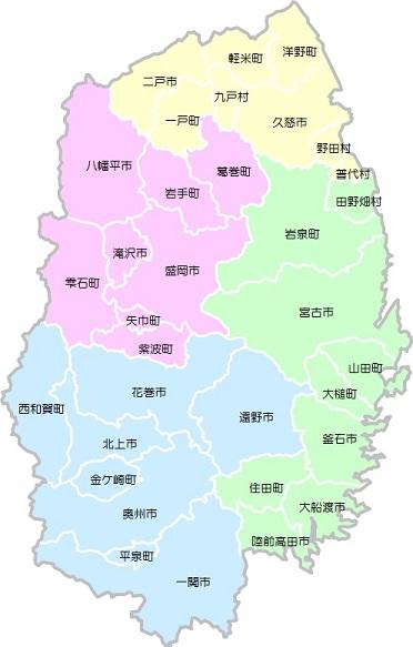 市町村マップ